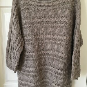 Chico's Open Knit Cable Sweater
